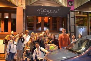 Students visit Spain for break