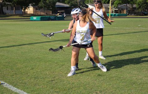 Girls lacrosse defeats Academy of the Holy Names