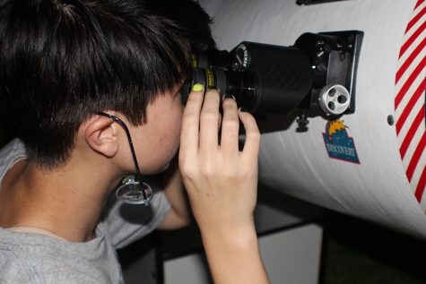 Astronomy clubs hosts first viewing