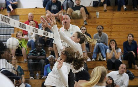 Varsity volleyball wins district title