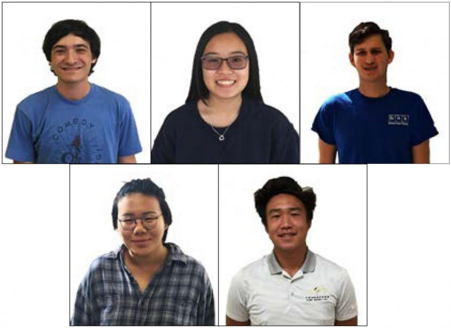 Five students receive nation-wide distinction