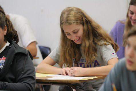Carpe Diem; Students compete in Latin Forum