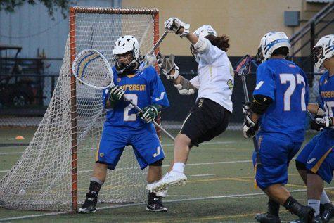 Boys lacrosse beats Jefferson