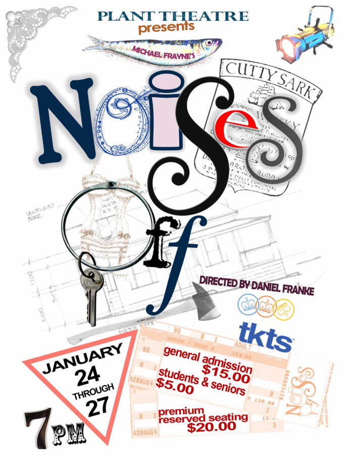 Noises Off brings new meaning to the word absurd