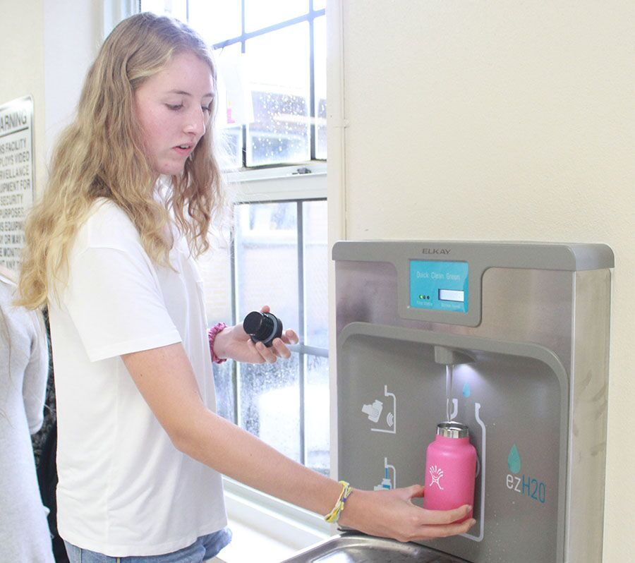 District tests school water
