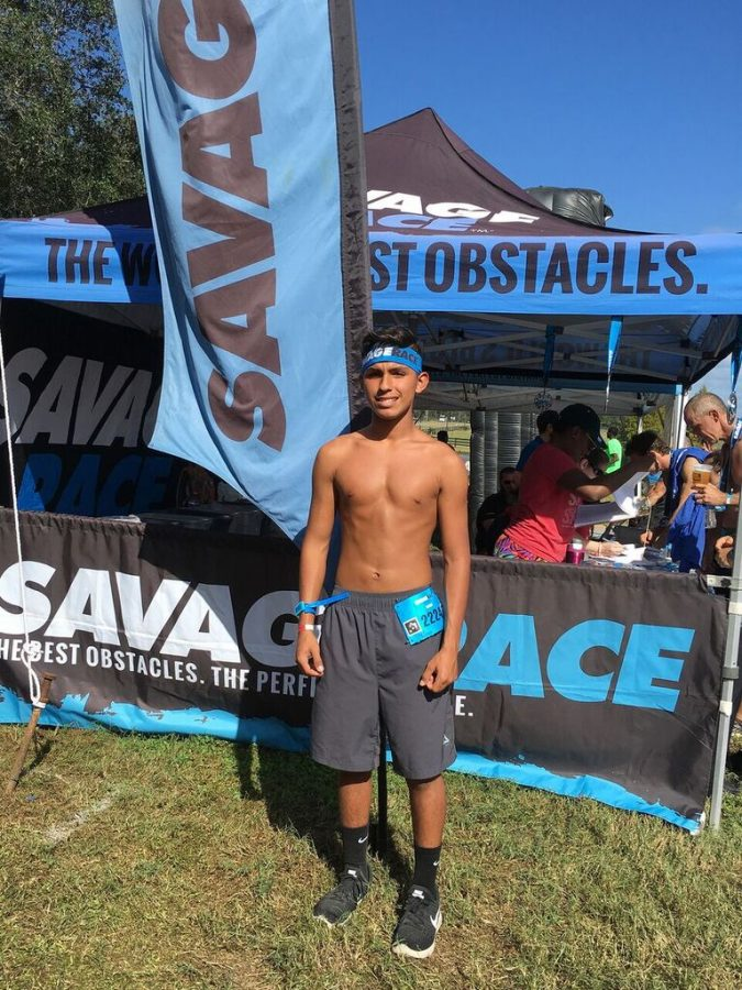 Junior David Hutchinson has competed in many obstacle course races, preparing for his debut on American Ninja Warrior in 2021. He competed in his first Savage Race last March which was 7 ½ miles with about 30 obstacles.