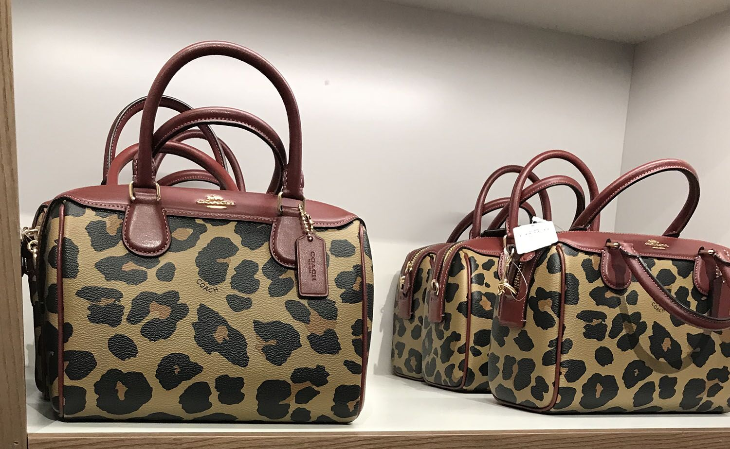 Animal prints are trending on all types of accessories such as purses, shoes, belts and fanny packs. Coach recently released a collection of handbags that consist of an animal print pattern.