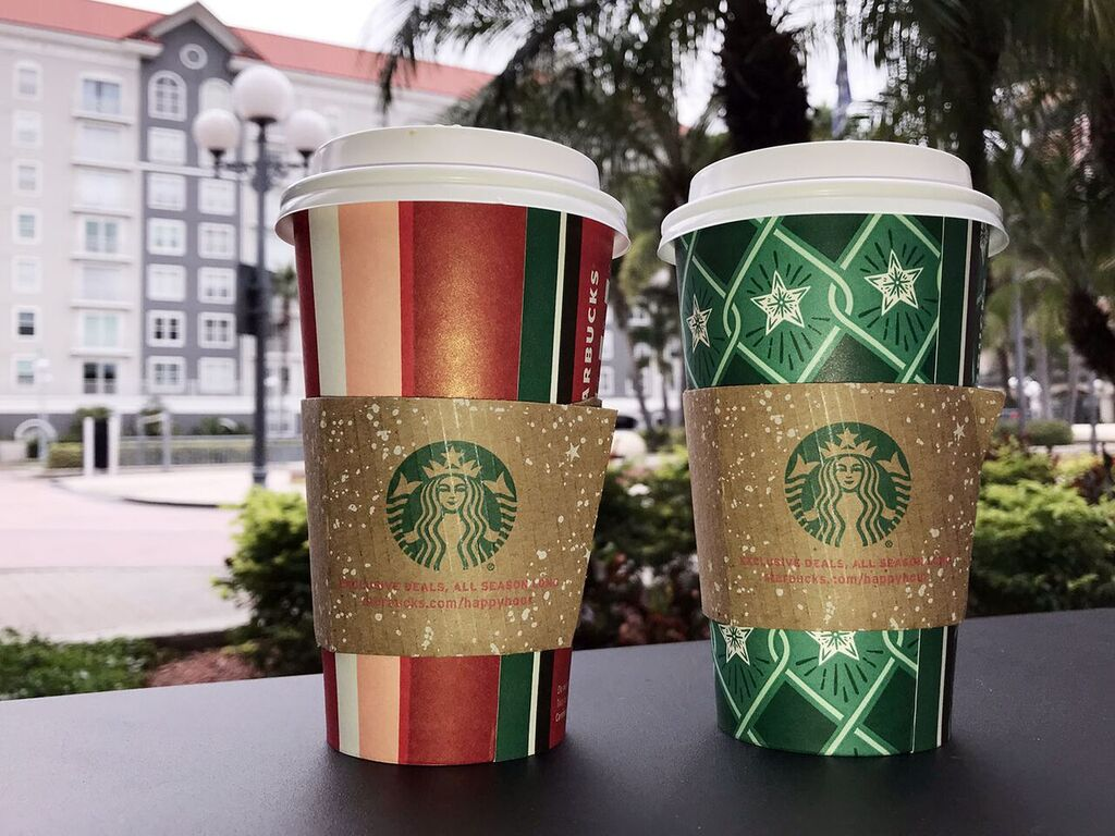 The three featured drinks on the Starbucks website for this holiday season are caramel brulée latte, peppermint mocha and toasted white chocolate mocha. These drinks have been available since Nov. 1.