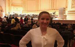 Senior musician plays at Carnegie Hall
