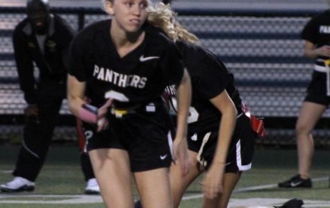 Varsity Girls Flag Football Team Plays Against Sickles