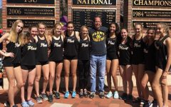 Distance track competes at FSU relays