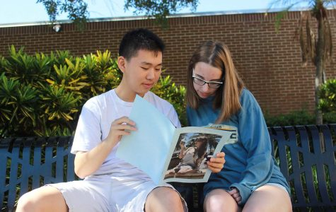 Literary club releases magazine