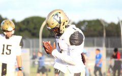 Varsity football looks to improve during bye week