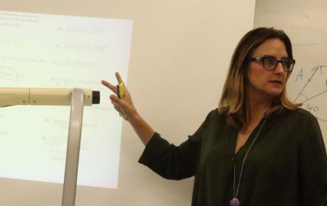 Teacher speaks of time working abroad