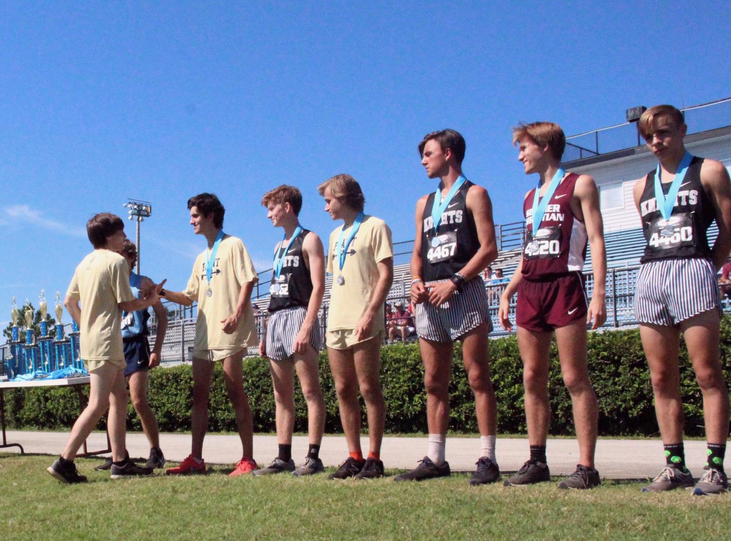 Boys cross country heads into