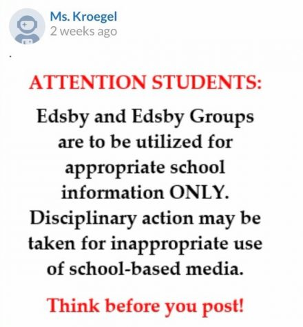 Memes overtake Edsby group