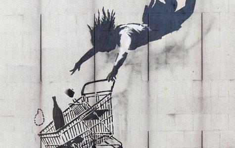 Street artist Banksy, a modern master