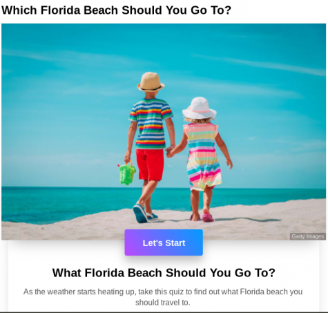 Which Florida beach should you go to?