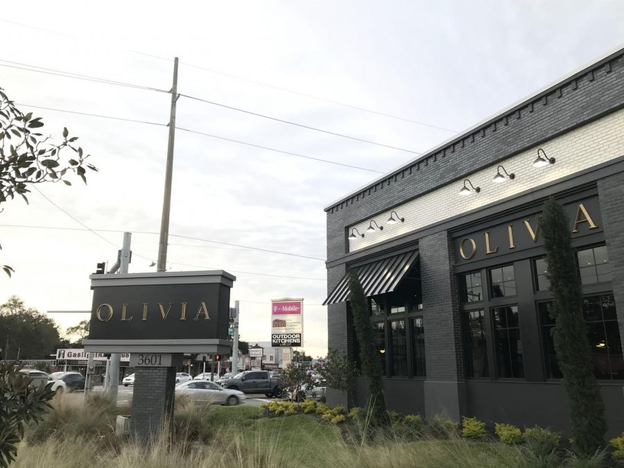 Serving a wide range of Italian food, Olivia is a new addition to the South Tampa area. Olivia opened Nov. 27, which replaced the Mediterranean restaurant Carmel Kitchen.