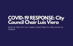 COVID-19 RESPONSE: City Council Chair Luis Viera