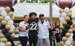 Navigation to Story: Varsity football honors seniors