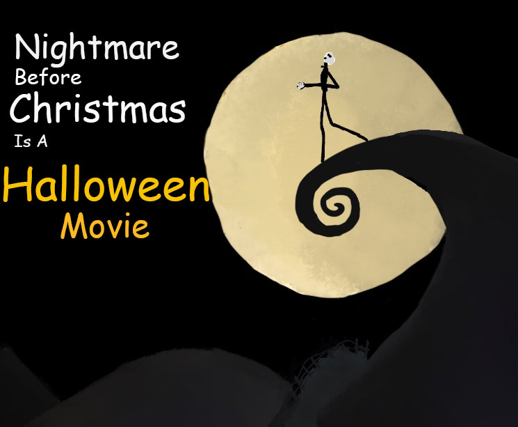 """""""The Nightmare Before Christmas"""" is a popular family film directed by Tim Burton. Although it has some elements of Christmas, the movie undoubtedly belongs to Halloween."""