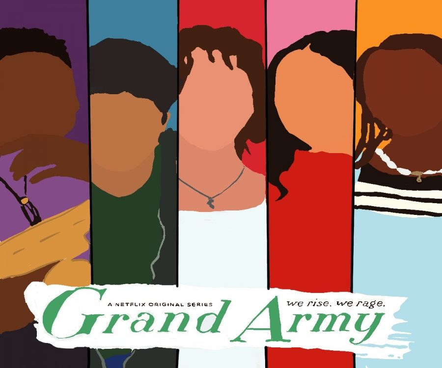 "Netflix releases, ""Grand Army"" and simultaneously attempts to convey the constant struggles of a diverse group of New York teens. The show quickly sparked conversations about activism within their young audience."