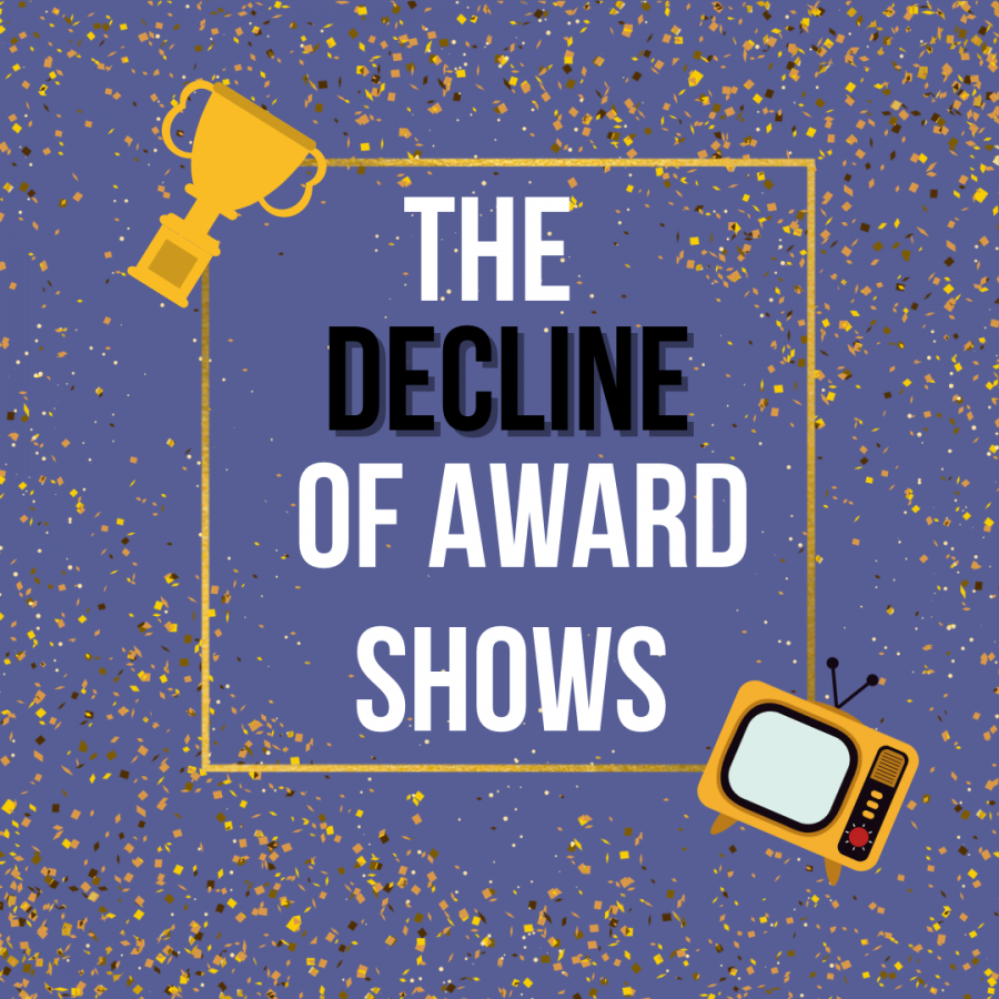 As+the+2021+award+season+approaches%2C+viewership+is+expected+to+continue+tanking.+Here+is+a+list+of+reasons+why+award+shows+have+had+an+overall+decline+within+the+last+few+decades.+