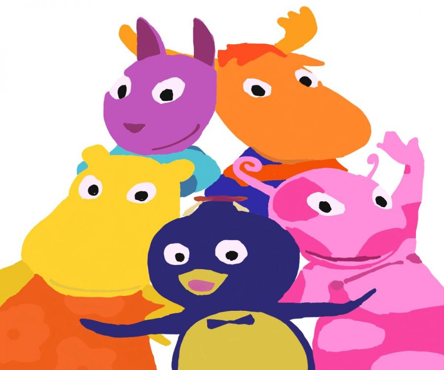 Pablo%2C+Tyrone%2C+Uniqua%2C+Tasha+and+Austin+team+up+to+journey+to+imaginary+places+in+their+backyard.+The+show+The+Backyardigans+aired+on+Nickelodeon+from+2004+to+2013.+