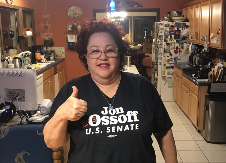 Margie Osherroff is a Georgia voter and has voted in every election since she was 18 years old. She voted for the candidates who better suited her environmental issues.