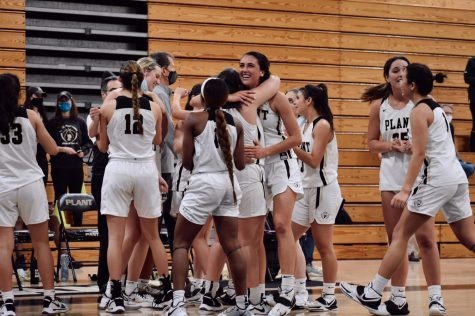 On Friday, Feb. 19, the girls basketball team secured their position in the FHSAA Class 7A State Finals as they took down Oak Ridge High School 63-29, claiming the Region 2 Championship. The girls will advance to the state semifinals game Friday, Feb. 26 in Lakeland, FL, where they will face Oakleaf High School.