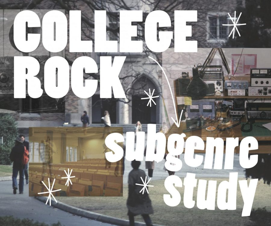 College rock was a radio format that emerged in the late 1970s and lasted through the early 1990s. The bands most associated with the format such as R.E.M., The Pixies, and The Replacements have sustained a lasting influence on the alternative rock genre.