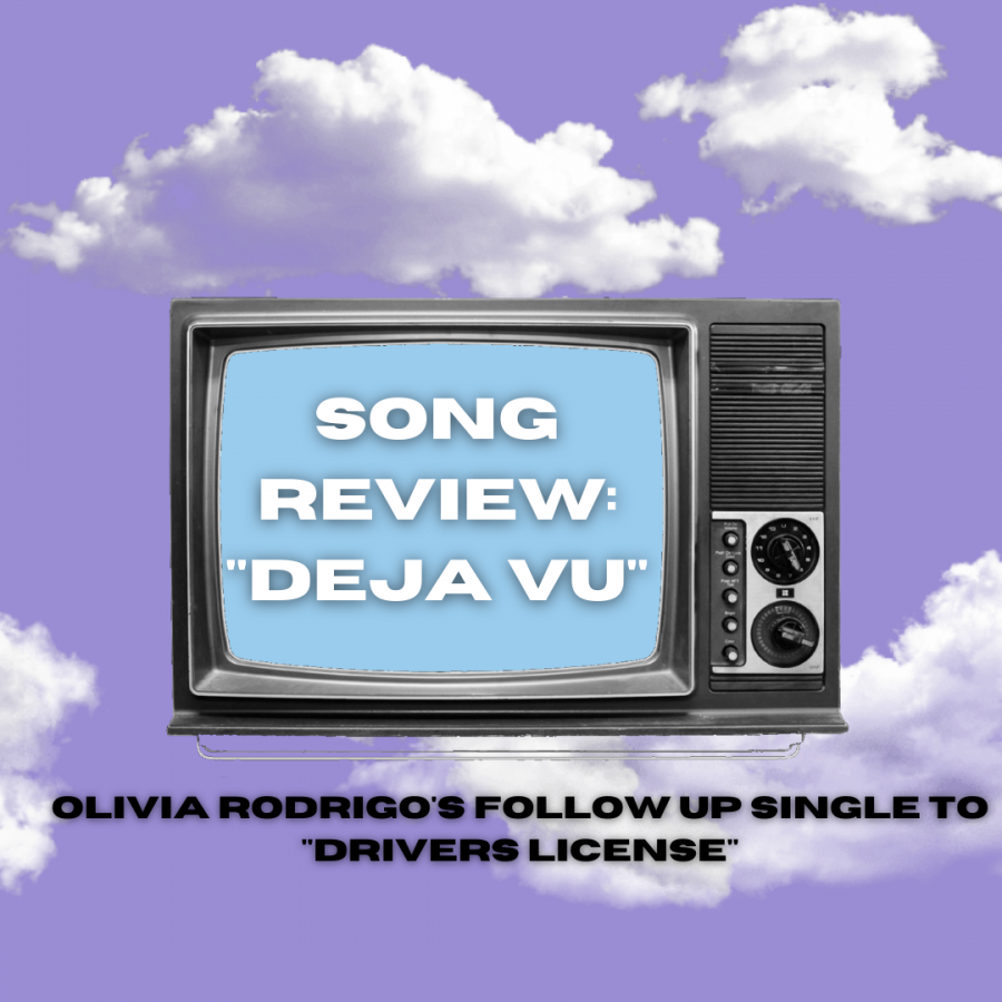 "Olivia Rodrigo has recently released her follow-up single ""deja vu."" The song debuted at number one on both the Spotify Top 10 Global and U.S. song debuts chart."