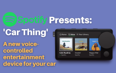 Navigation to Story: Spotify announces new in-car player: 'Car Thing'