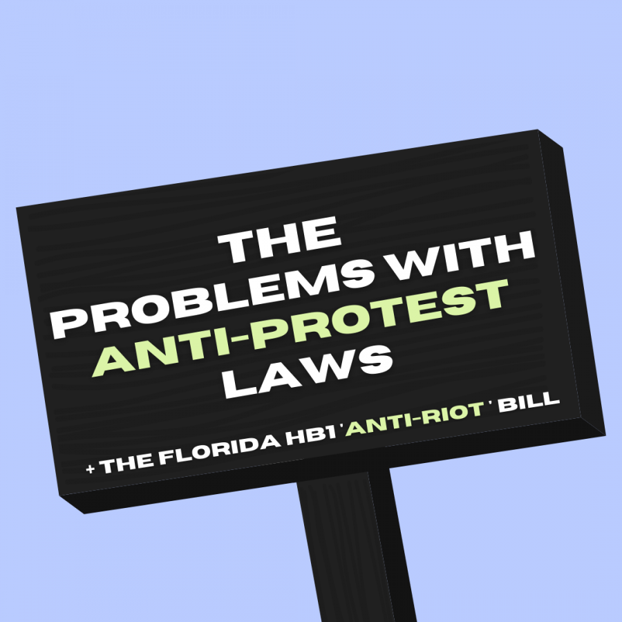 New anti-protest bills have been on the rise as of lately. These bills are often scrutinized for their  ability to abuse power and block out the voices of civilians.