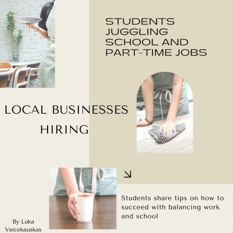 Throughout the school year, students focus not only on their grades, subjects, and sports, but also on making extra pocket money. However, a day is only 24 hours and one full Earth's rotation, but to many students, it is not enough. Juggling with rigorous classes and a part-time job can be challenging, but many students find it rewarding.