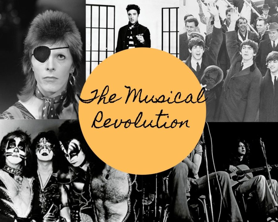 Influential+artists+pictured+through+the+decades.+The+50s%2C+60s%2C+70s%2C+and+80s+were+some+of+the+most+musically+influential+periods+of+all+time.