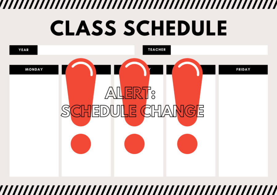 As a result of the additional classes, many students have received schedule changes.
