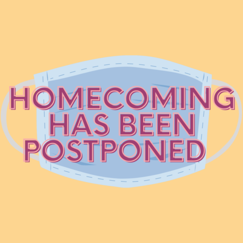 Homecoming has been postponed until further notice. As of now, there is no set date for the dance, but the homecoming game is set for Oct. 8.