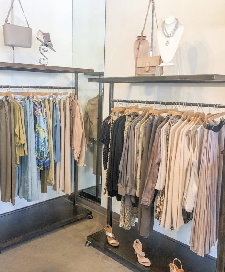 An inside look on featured outfits inside, Deborah Kent's, one of Tampa's famous boutiques.