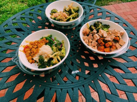 These are some of the bowls from Fresh Kitchen. Scroll to find more on the BYOB concept.