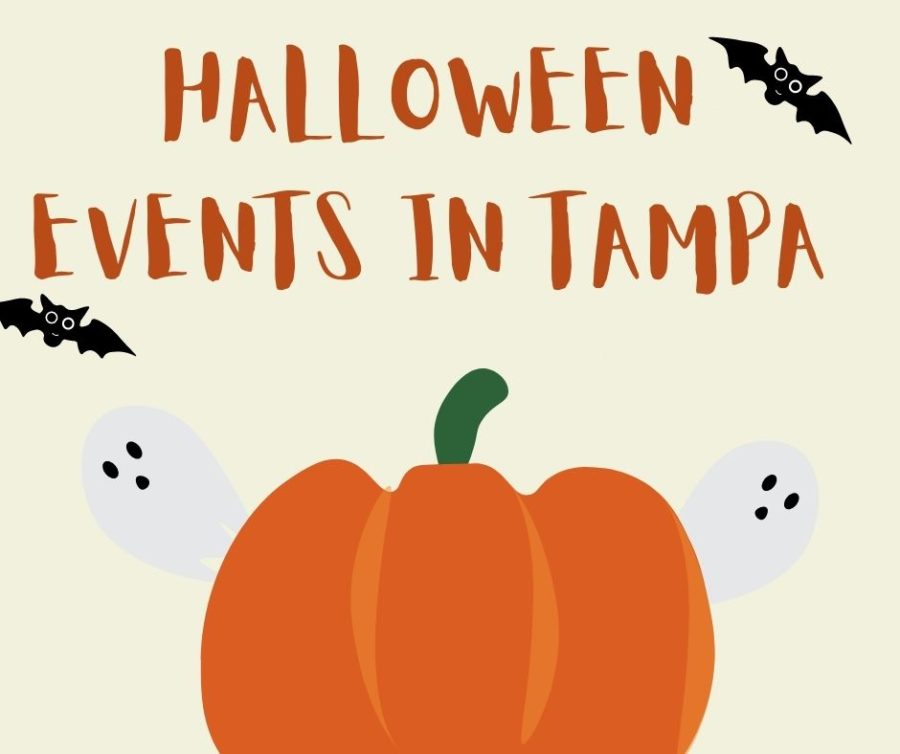 Halloween is in two weeks! Below is a list of spirited events in Tampa.