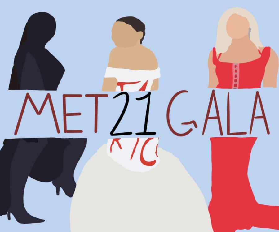 Many+different+and+unique+outfits+were+shown+at+the+2021+Met+Gala.+Kim+Kardashian%2C+Alexandria+Ocasio-+Cortez%2C+and+Addison+Rae+were+some+of+the+many+people+who+wore+memorable+outfits.+